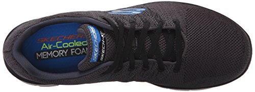 Skechers Flex Advantage 2.0, Scarpe Sportive Outdoor Uomo Charcoal/Black