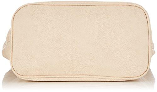 Tamaris WOVEN 1222151 Damen Schultertaschen 40x29x17 cm (B x H x T) Elfenbein (Ivory)