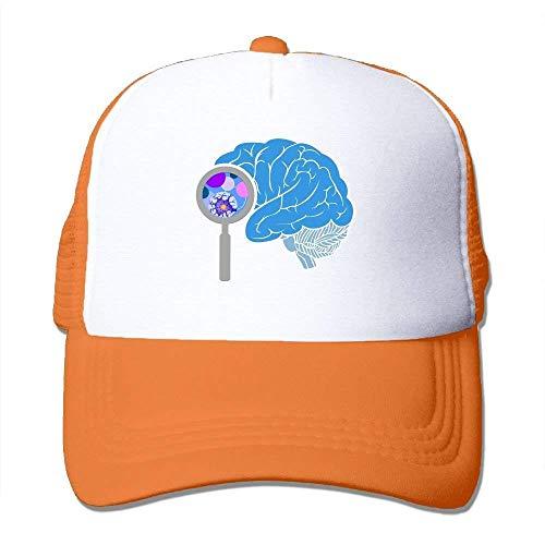 dfegyfr Karikatur-Gehirn-justierbare Sport-Mütze Baseballmütze Trucker Cap Sun Hüte Unisex9 (70er Jahre Barbie Kostüm)