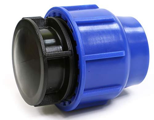 PP connecteur de serrage pour tuyaux en PE 25 mm Embout/endstopfen