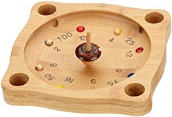 goki HS051 Tiroler Roulette Spiel Kreiselspiel Holz NEU #
