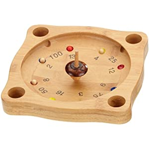 Philos 3261 Tyrolean Roulette Bamboo Game