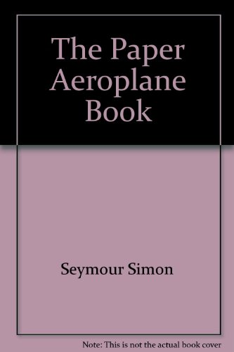 The paper aeroplane book