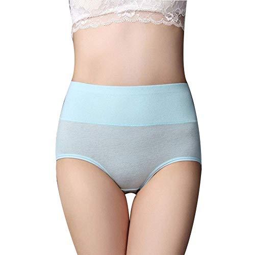 Scrox Ropa Interior Femenina de Moda Mujeres Ropa Interior Atractiva de los Escritos de Las Mujeres Cortocircuitos Respirables Atractivos (Azul)