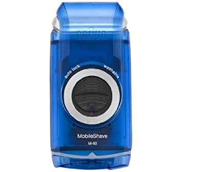 Battery Operated Braun M60b Mobile Shave Battery Operated Shaver Suitable For Wet and Dry Use