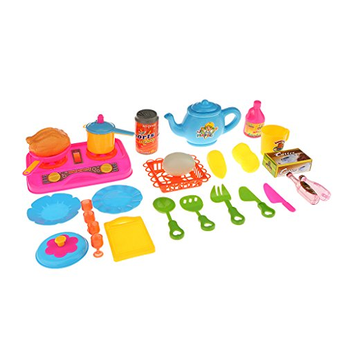 Kinder Rollenspiel Kinderküche Spielküche Kochgeschirr Spielset Pretend Play