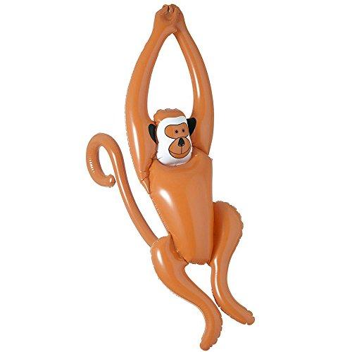 Widmann 2467Y Aufblasbarer schaukelnder Affe, -