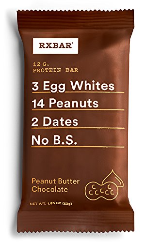 RX Bar 12 Bars, Peanut Butter Chocolate, 0.624 Kg