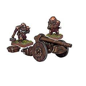 Mantic Games MGKWD14-1 Dwarf - Cañón de Hierro