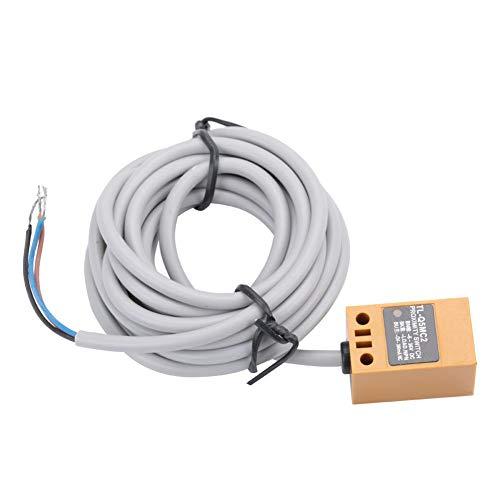 Näherungsschalter, TL-Q5MC2 Induktiver Näherungsschalter, 5 mm, DC, 3-Draht, NPN-Schalter, normalerweise geschlossen