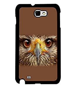 printtech Eagle Look Back Case Cover for Samsung Galaxy Note 2::Samsung Galaxy Note 2 N7100