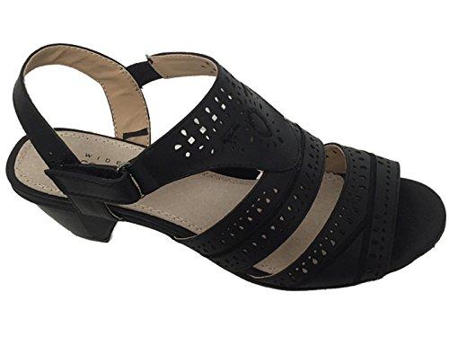 Foster Footwear ,  Damen Sling Backs Black W