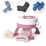 Macchina per maglieria, 22 aghi macchina per tessitura manuale automatico telaio per tessitura kit bambini macchina da cucire tessitura fai da te