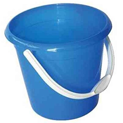 Jantex CD804 Round Plastic Buckets, Blue Test