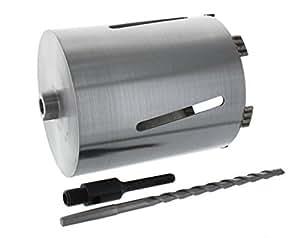 Trépan diamant 180 mm de diamètre longueur utile 152 mm/adaptateur sDS plus courte avec 100 mm mèche à centrer betonbohrkrone à carotter