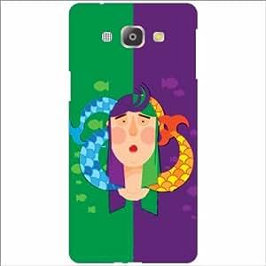 Design Worlds - Samsung Galaxy A8 Designer Back Cover Case - Multicolor Pho...