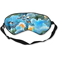 Village Life Paint Sleep Eyes Masks - Comfortable Sleeping Mask Eye Cover For Travelling Night Noon Nap Mediation... preisvergleich bei billige-tabletten.eu