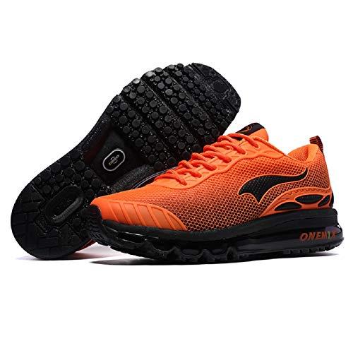 DDSHYNC Scarpe da Corsa da Uomo Donne Tendenze Nice Run Scarpe da Ginnastica Rosse Zapatillas Scarpe Sportive Scarpe da Ginnastica Outdoor Walking Sneakers,C,EUR43