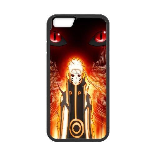Naruto Uzumaki 33 coque iPhone 6 Plus 5.5 Inch Housse téléphone Noir de couverture de cas coque EOKXLKNBC21410