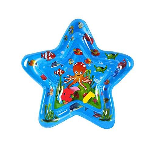 Luerme Baby-Wasserspielmatte, aufblasbares Babyspielzeug für Säuglinge und Kleinkinder Fun Activity Play Center für die Entwicklung des Gehirns BPA-freies Babyspielzeug für 3-12 Monate