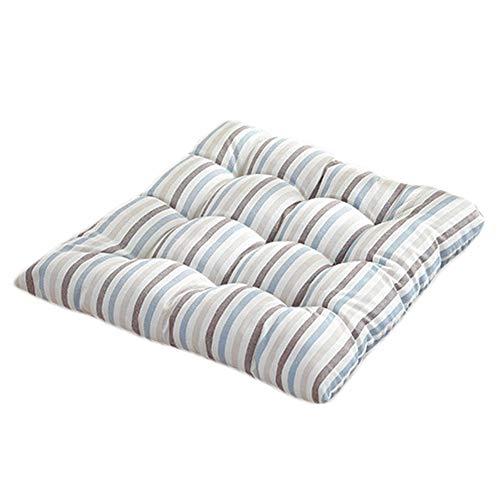 Hosaire Coussins de Chaise Esthétique et Confortable Motif de Rayé Colorées Coussins d'Assise Décoration pour intérieur et extérieur Chaise de Jardin