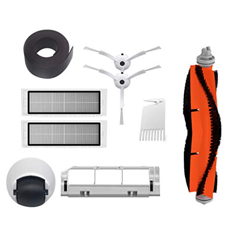 Home Appliance Parts Home Appliances Steady Vacuum Cleaner Spare Parts For Xiaomi Roborock Mi Robot Kits 2pc Filter 2pcs Side Brush 1pc Main Brush 1pc Virtual Magnetic Wa Excellent Quality