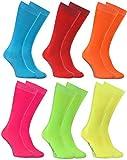 Rainbow Socks - Niño Niña Calcetines Largos Hasta la Rodilla