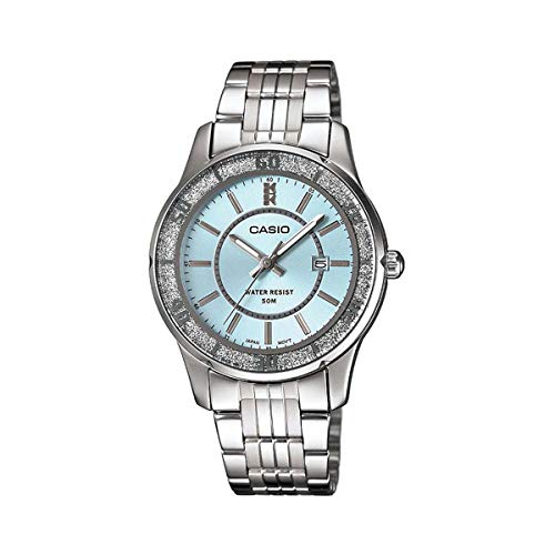 Casio Enticer Analog Blue Dial Women's Watch - LTP-1358D-2AVDF (A804)