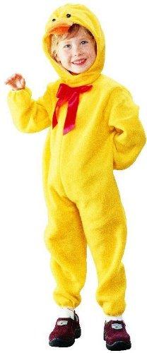 Ente Kostüm Kinder - Foxxeo Kostüm Ente Entenkostüm Tierkostüm für Kinder Enten Jungen Mädchen Tier Größe 98-104