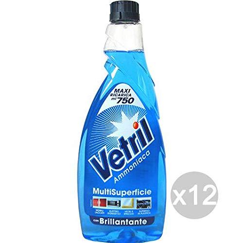 Set 12 VETRIL Multi Use Antistatik-Spray 650 Ml Voll Cleaners Und Reinigung Des Hauses