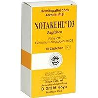 NOTAKEHL D 3 Suppositorien 10 St preisvergleich bei billige-tabletten.eu