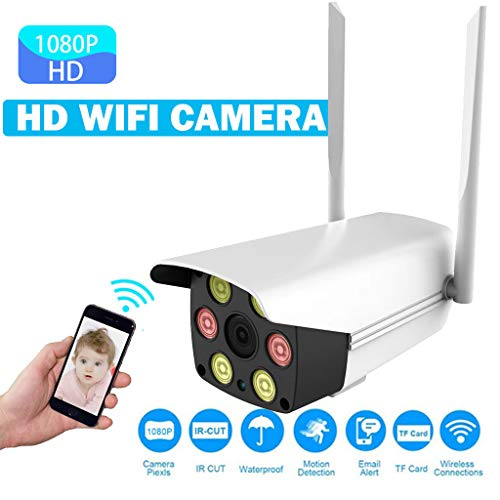 XM530 Überwachungskamera Wireless IP Kamera HP 1080P Wasserdichte Sicherheit SD Karte IR Nachtsicht Zwei-Wege-Audio Cloud Speicher Outdoor Waffe Kamera Wifi Remote Monitor für Onvif (A) -