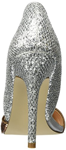Miss Kg Damen Andi 2 Pumps Silber (pettine Di Metallo)