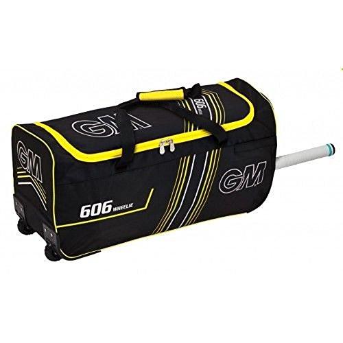 GUNN & MOORE Cricket Sports Kit Big Bag 606'D' öffnungsreißverschlüsse Wheelie Reisetasche