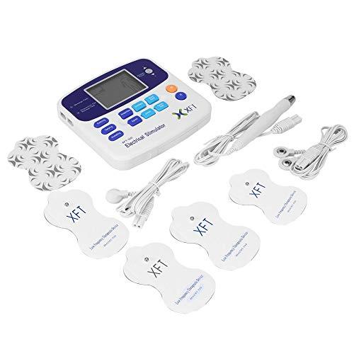 Professionale xft-320 elettrostimolatore massaggiatore dual tens macchina digitale massaggio relax corpo vendita in tutto il mondo 2017 hot