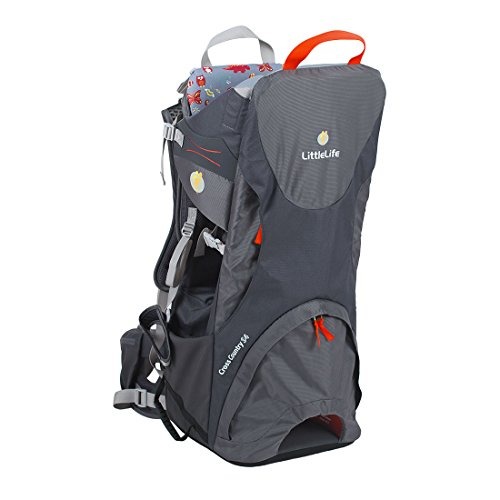 LittleLife Cross Country S4 Child Carrier (Grey)  Lifemarque Ltd
