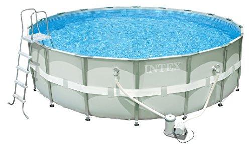Intex Ultra Frame Pool Set - Aufstellpool - Ø 488 x 122 cm - Zubehör enthalten