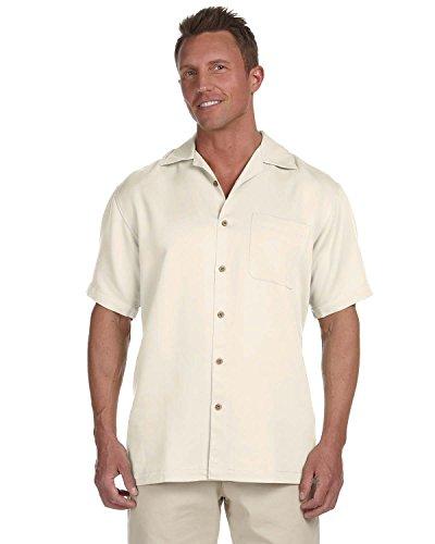 Preisvergleich Produktbild HARRITON Herren Bahama Kordel Camp Shirt Gr. S , Creme