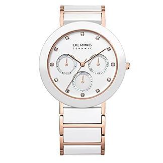 Bering time para mujer-reloj analógico de cuarzo chapado en acero inoxidable 11438-766