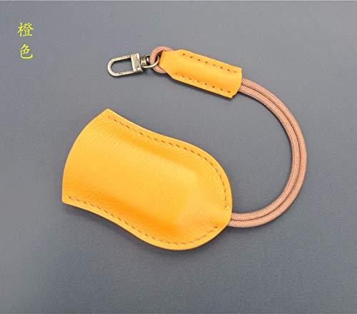 MNCJD Schlüsselbund Original Ziehen Car Key Bag Home Schlüsselprotektor Handgefertigte Leder Kreative Kleine Geschenke