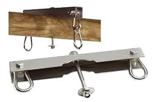 Crochet de balançoire pour balançoire à double siège et balançoire nid d'oiseau