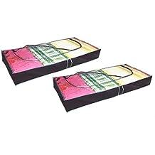 RMB/® 2er Set Unterbett-Komode 100 x 45 x 16 cm mit Rei/ßverschlu/ß