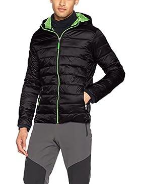 Resultado r194m Urban Snow Bird chaqueta con capucha, Unisex, color negro y verde, tamaño large