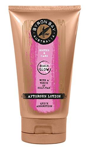 After Sun - Amplificatore per abbronzatura BEACH GLOW, 150 ml, lozione dopo sole, idratante grazie all'olio di noccioli di albicocca