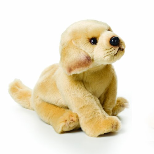 Nat and Jules Yellow Labrador Plush Toy, Small