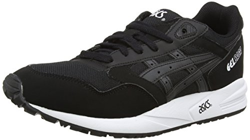 ASICS Gelsaga, Chaussures Multisport Outdoor Mixte adulte Noir (Black/Silver/Hot Pink 9093)