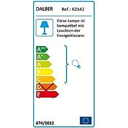 Dalber 62142 - Lámpara colgante, diseño mariposas