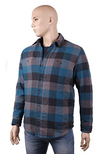 Timberland Homme Chemise De Flanelle Bass River Sherpa Taille M Essence