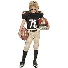 Infantil Jugador de fútbol americano Niño 158cm de vestuario Grandes 11-13 años (158cm) para USA Deportes vestido de lujo