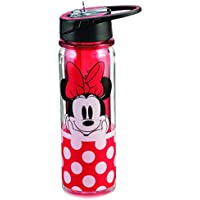 Tritan Water Bottle - Disney - Minnie Mouse Red 18oz New Licensed 89075